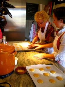 atelier de cuisine 'macarons noisette & chocolat blanc'