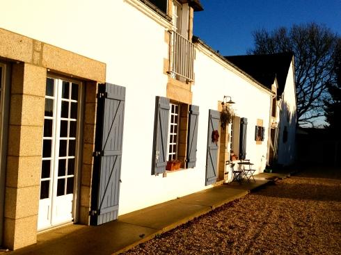15 januari 2013 mooi weer in Bretagne