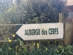 Auberge des cerfs, de hertenboerderij in Kerfulus.