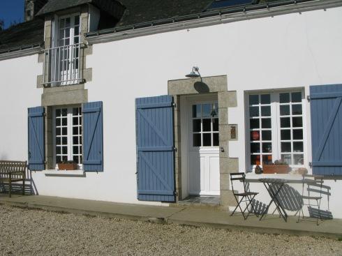 La maison blanche aux volets bleus, maison d'hôtes en Bretagne, atelier de cuisine