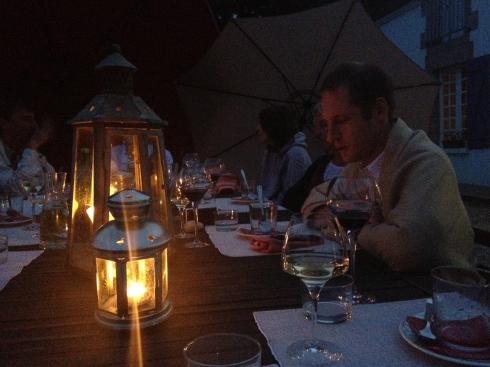 Prachtige avond met zalig zomerdiner en geweldige gasten !