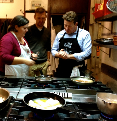 Koken met onze Baskische vrienden