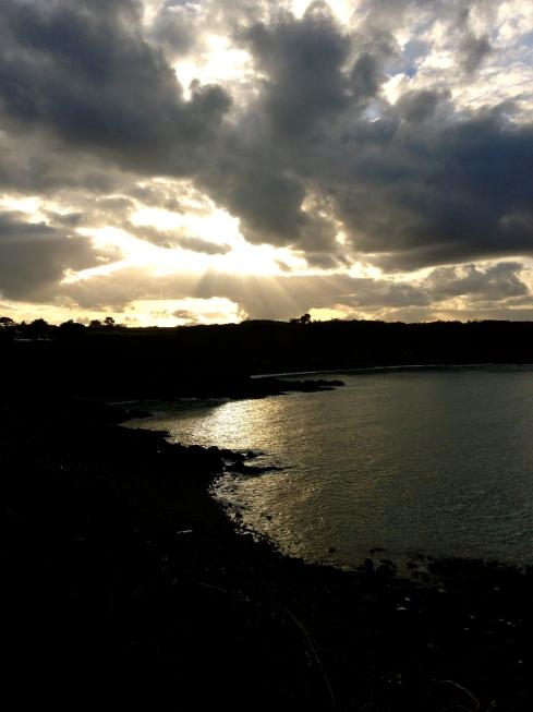 Prachtige wandeling langs het kustpad tussen Binic en Plouha. Info over verblijfsmogelijkheden op www.lamaisonblancheauxvoletsbleus.com