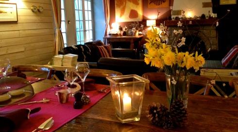 Geniet van de Krokusvakantie dat doen onze gasten ook ! De Paasbloemen denken dat het al Pasen is  !