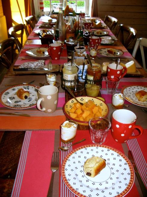 Van ontbijt....