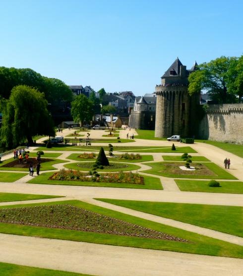 Vannes, prachtige middeleeuwse stad in ons departement Morbihan.