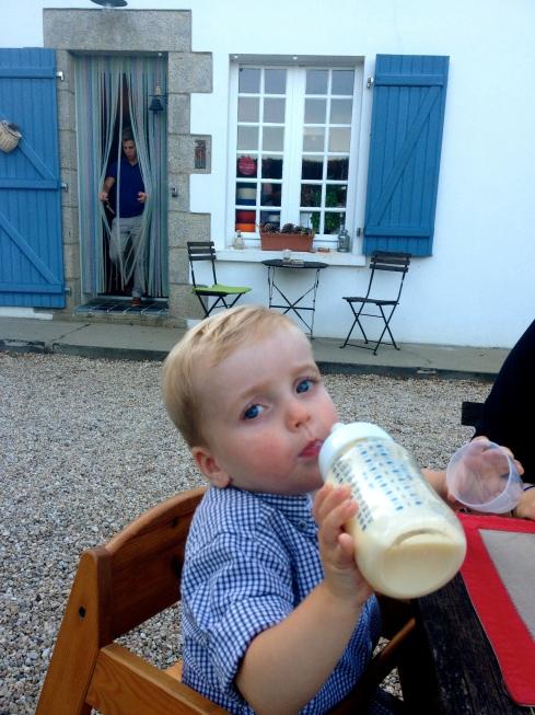 """""""Made in Bretagne"""" zo zeggen de ouders die hier zo'n twee jaar geleden te gast waren en nu het resultaat komen laten zien :) !"""